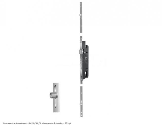 Zamek Listwowy Vbh 16  28  92  8 Sterowana Klamk U0105